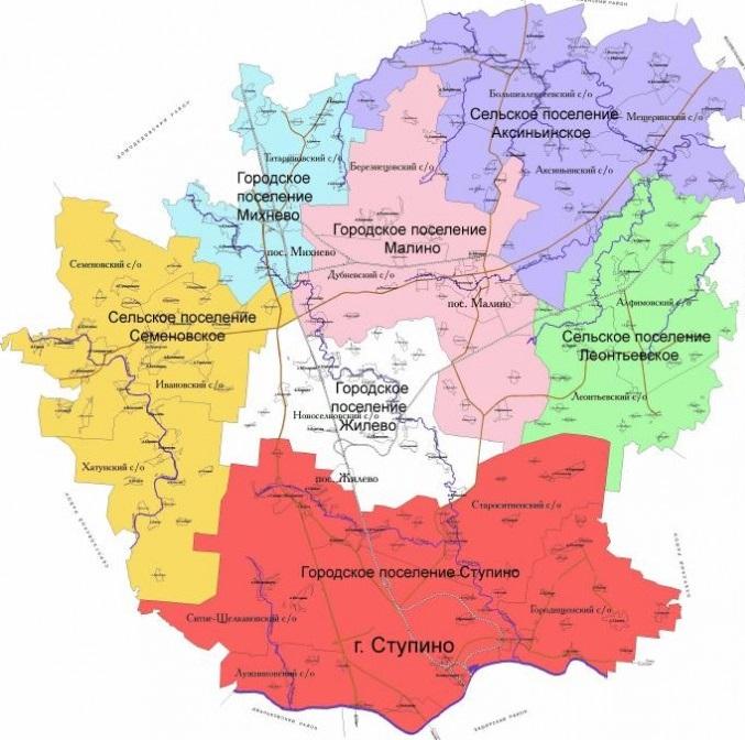 Карта-Ступинского-района-695x700